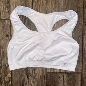 White sports bra   Champion   Size Medium